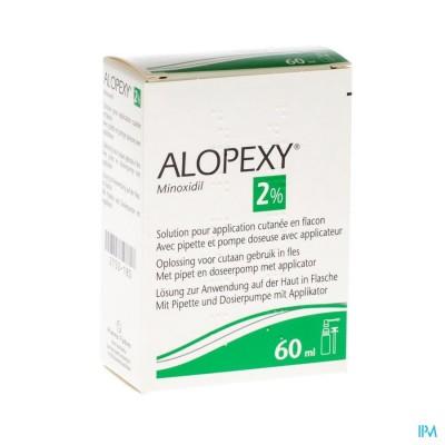 ALOPEXY 2 % LIQUID FL PLAST PIPET 1X60ML