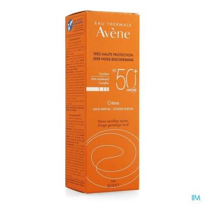 AVENE ZON  IP50+ CREME SOLAIRE S/PARFUM       50ML