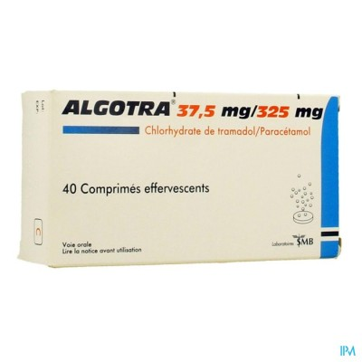 ALGOTRA 37,5MG/325MG BRUISTABLETTEN  40