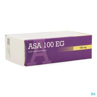 ASA 100 EG COMP MAAGSAPRESISTENTE 168 X 100 MG