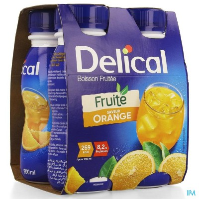 DELICAL FRUITDRINK SINAASAPPEL             4X200ML