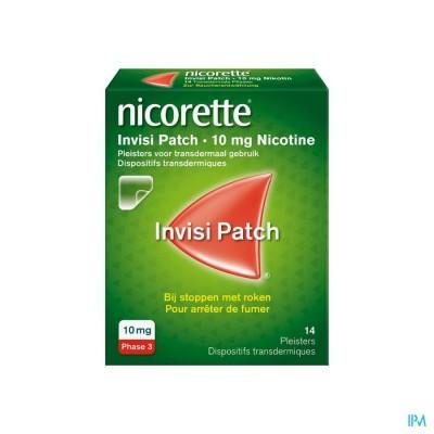 NICORETTE INVISI 10 MG PATCH 14