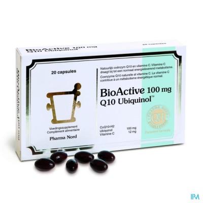 BIO ACTIVE Q10 100MG       CAPS  20