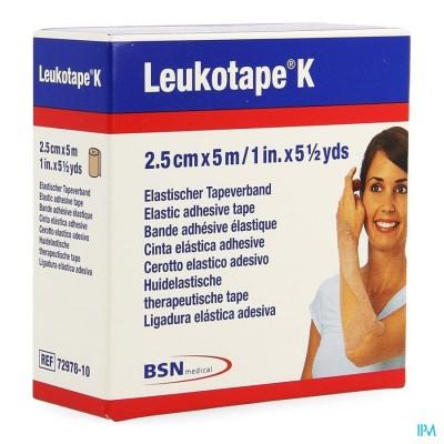 LEUKOTAPE K KLEEFWINDEL ELAST HUID  2,5CMX5M 1