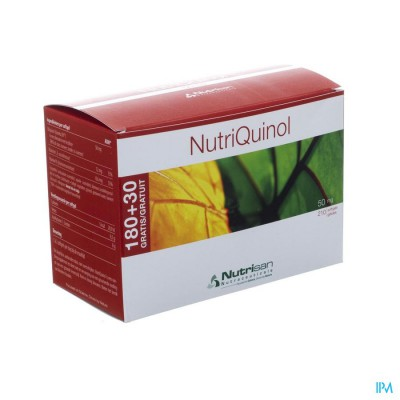 Nutriquinol 50mg 180+30 Gratis Softgels   Nutrisan
