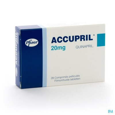 ACCUPRIL COMP  28 X 20 MG