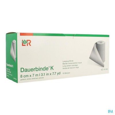 DAUERBINDE K     8CM X 7M  1 105905