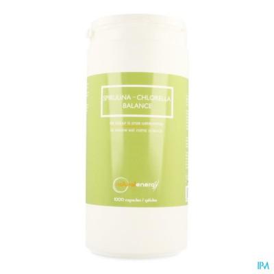 Spirulina-chlorella Balance Natur.energy Caps 1000