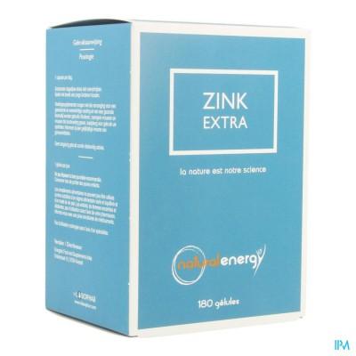 Zink Extra Natural Energy Caps 180