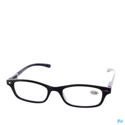 PHARMAGLASSES LEESBRIL DIOP.+1.50 BLACK