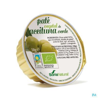 Soria paté van groene olijven 50 g bio