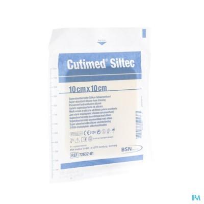CUTIMED SILTEC KP STERIEL    10,0X10,0CM 1 7328501
