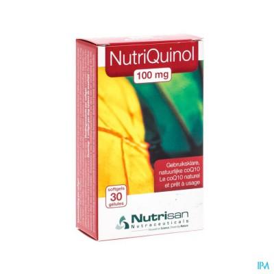 Nutriquinol 100mg Nf 30 Softgels  Nutrisan