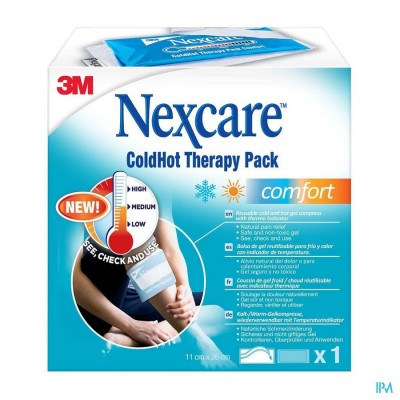 N1571ti-dab Nexcare Coldhot Therapy Pack Comfort Zonetemperatuur Indicator, 260 Mm X 110 Mm