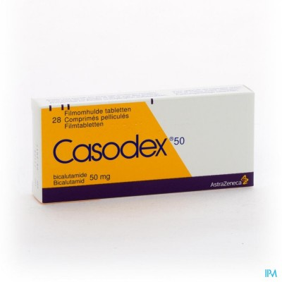 CASODEX TABL 28X 50MG