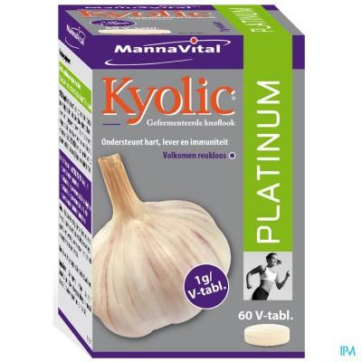 Kyolic Platinum (Gefermenteerde knoflook)