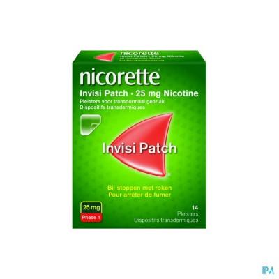 NICORETTE INVISI 25 MG PATCH 14