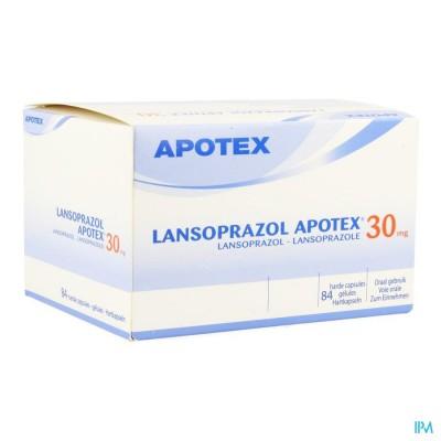 LANSOPRAZOL APOTEX 30MG CAPS 84 X 30 MG