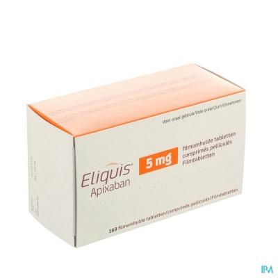 ELIQUIS 5,0 MG FILMOMH TABL 168 X  5 MG