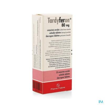 TARDYFERON 80 MG FILMOMH TABL  30