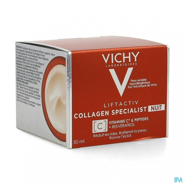 VICHY LIFTACTIV COLLAGEN SPECIALIST NACHT     50ML
