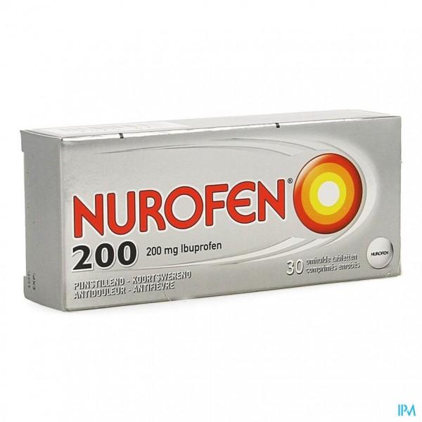 NUROFEN OMHULDE TABL 30 X 200 MG