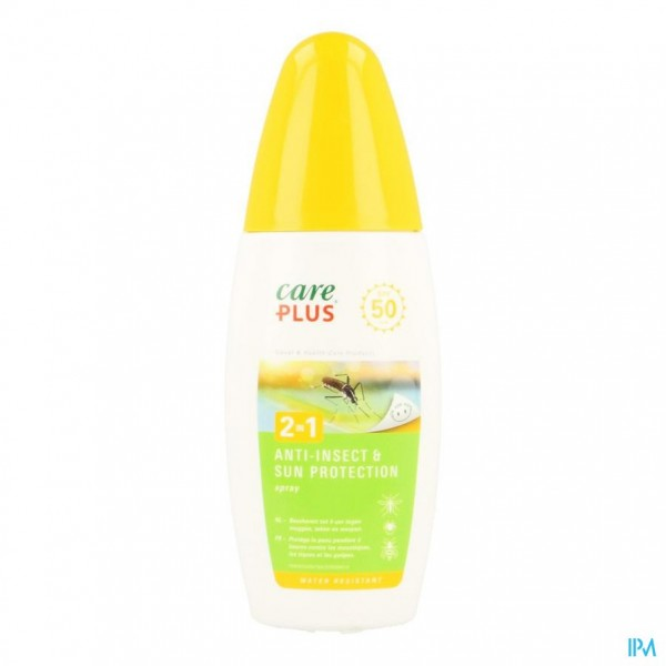 CARE PLUS 2IN1 A/INSECT+SUN PROTECTION IP5O  150ML