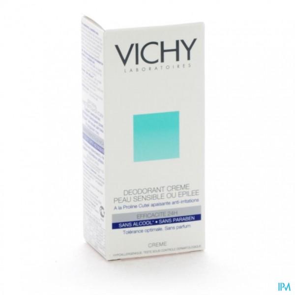 VICHY DEO GEV. H-GEEPILEERD CREME 24U 40ML