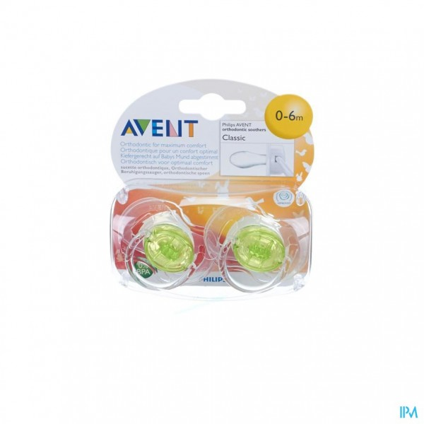 PHILIPS AVENT FOPSPENEN TRANSPARANT SILICONE3-6M 2
