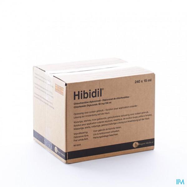 Hibidil Sol 240x15ml Ud Bottelpack