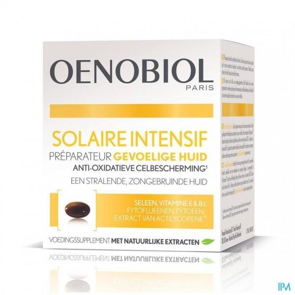 OENOBIOL SOLAIRE INTENSIF GEVOELIGE HUID   CAPS 30
