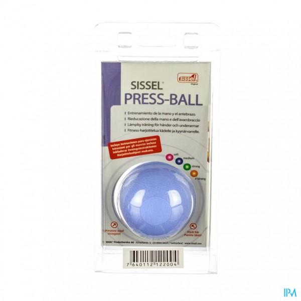 Sissel Press Ball Medium Blauw