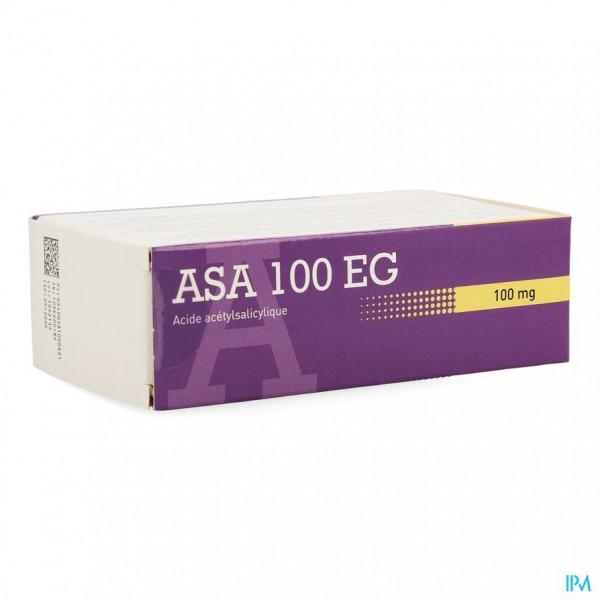 ASA 100 EG COMP MAAGSAPRESISTENT 168 X 100MG